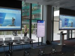 KPMG - Boadrrooms, videoconferencing and Digital Signage integration,